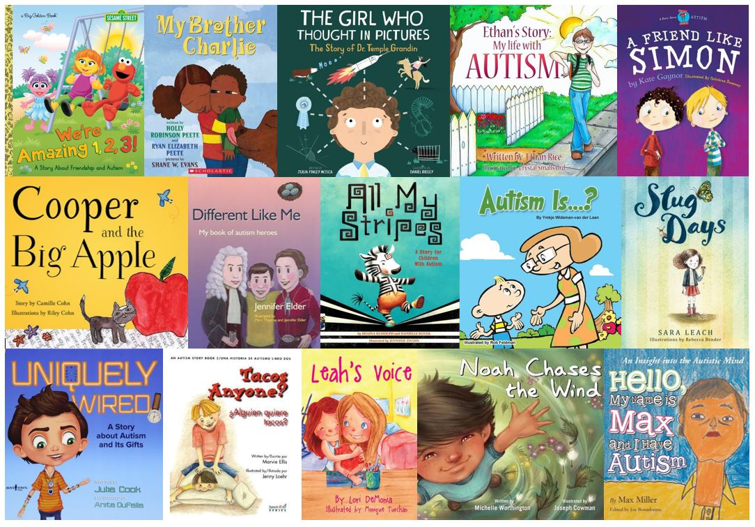 Image result for Autism children's picture books