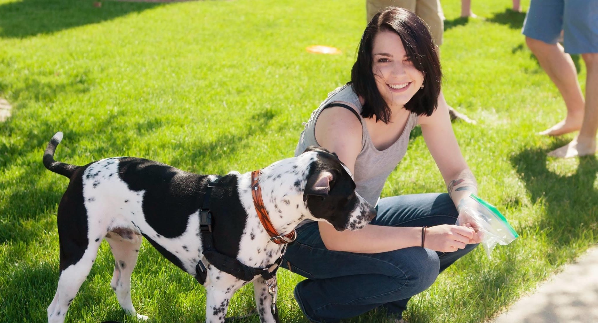 Taylor K & her pup